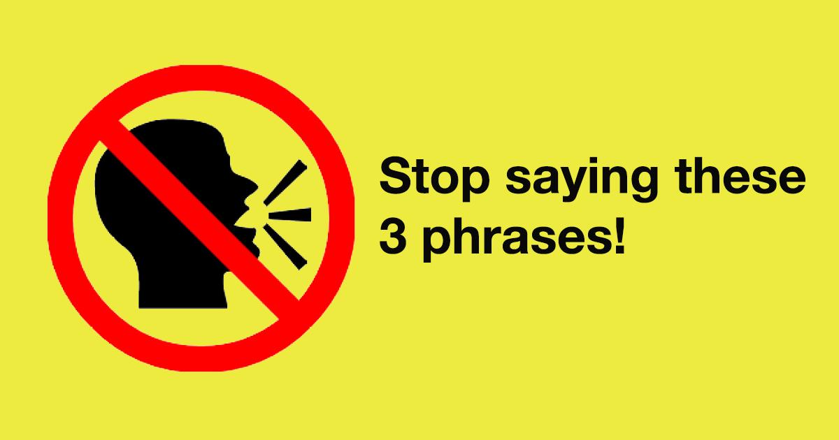 SkillLane | ลดการตึงเครียดโดยการเลิกพูดสามประโยคนี้