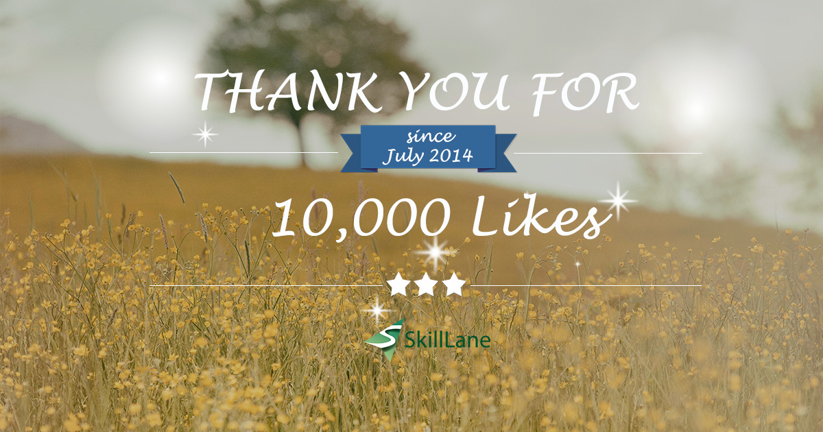 Thank you for 10000 likes