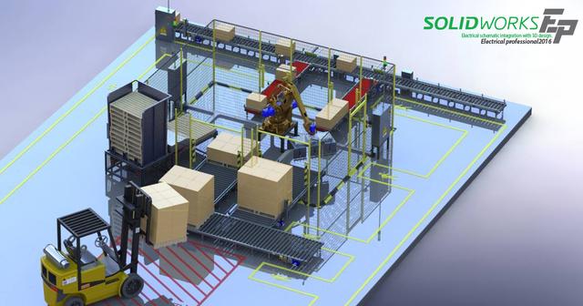 เขียนแบบไฟฟ้าด้วย SolidWorks Electrical 3D
