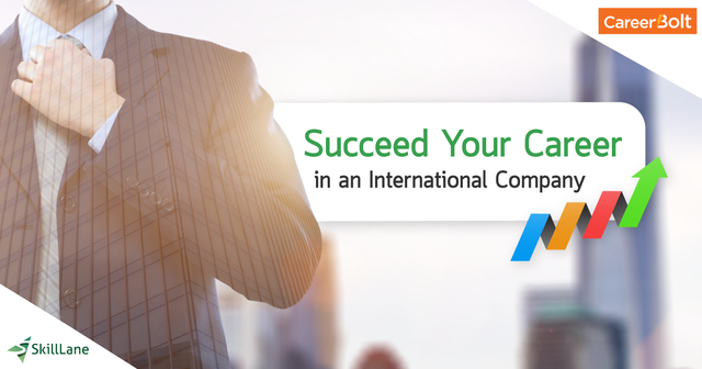 Succeed Your Career in an International Company