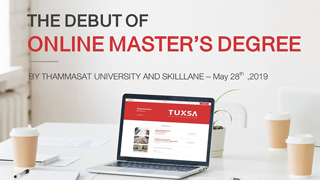 The Debut of Online Master's Degree by Thammasat University and SkillLane