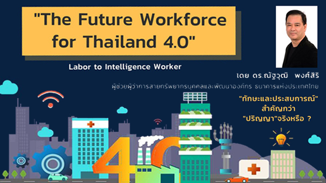 CUVIPGENED0004 The Future Workforce for Thailand 4.0